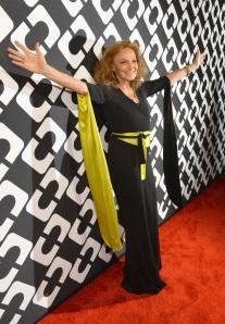 Diane Von Furstenberg's Journey Of A Dress Exhibition Opening Celebration - Red Carpet